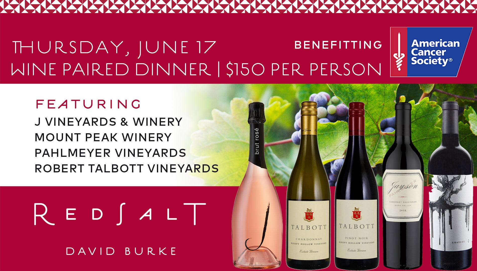 Red Salt June Wine Paired Dinner