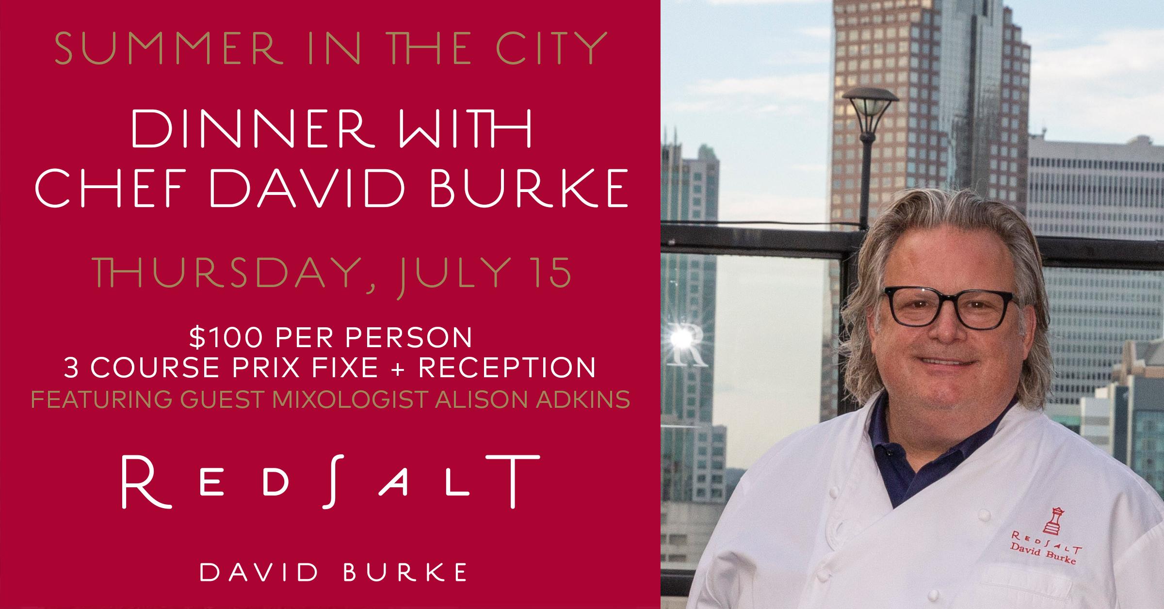 Chef David Burke in Charlotte